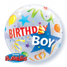 Birthday Boy Bubble Balloon
